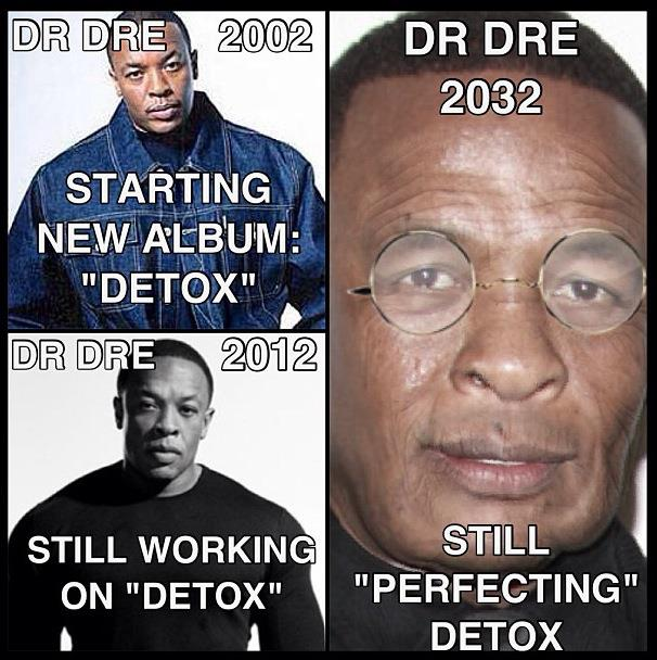 I Really Wish We Could've Gotten That Detox Album Like 10 Years Ago, Bruhs