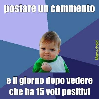 feel like primo in classifica :)